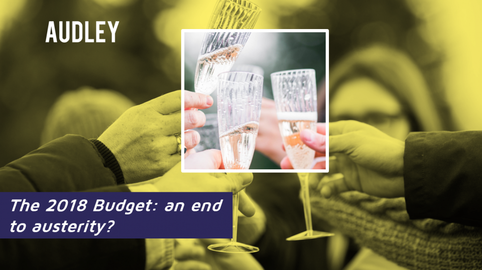 The Budget: an end to austerity?