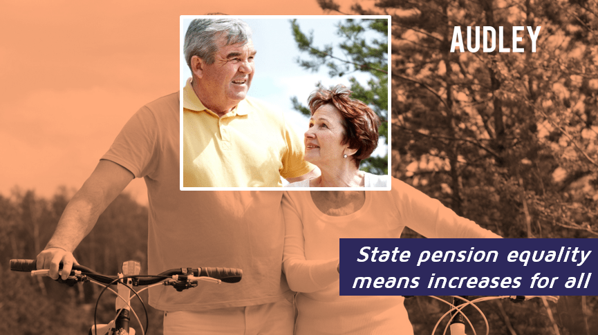 State pension equality means increases for all